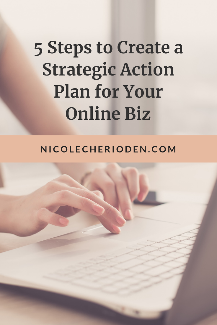 how to create a strategic action plan