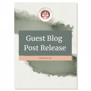 Guest Blog Post Release