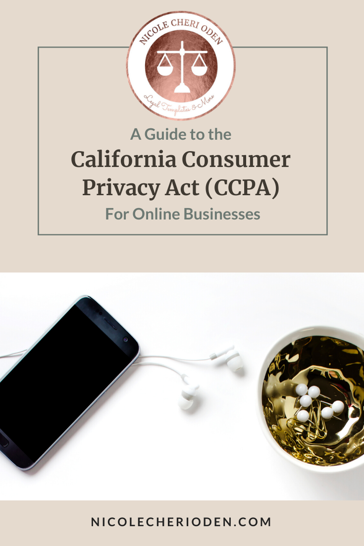 A Guide to the CCPA for Online Businesses