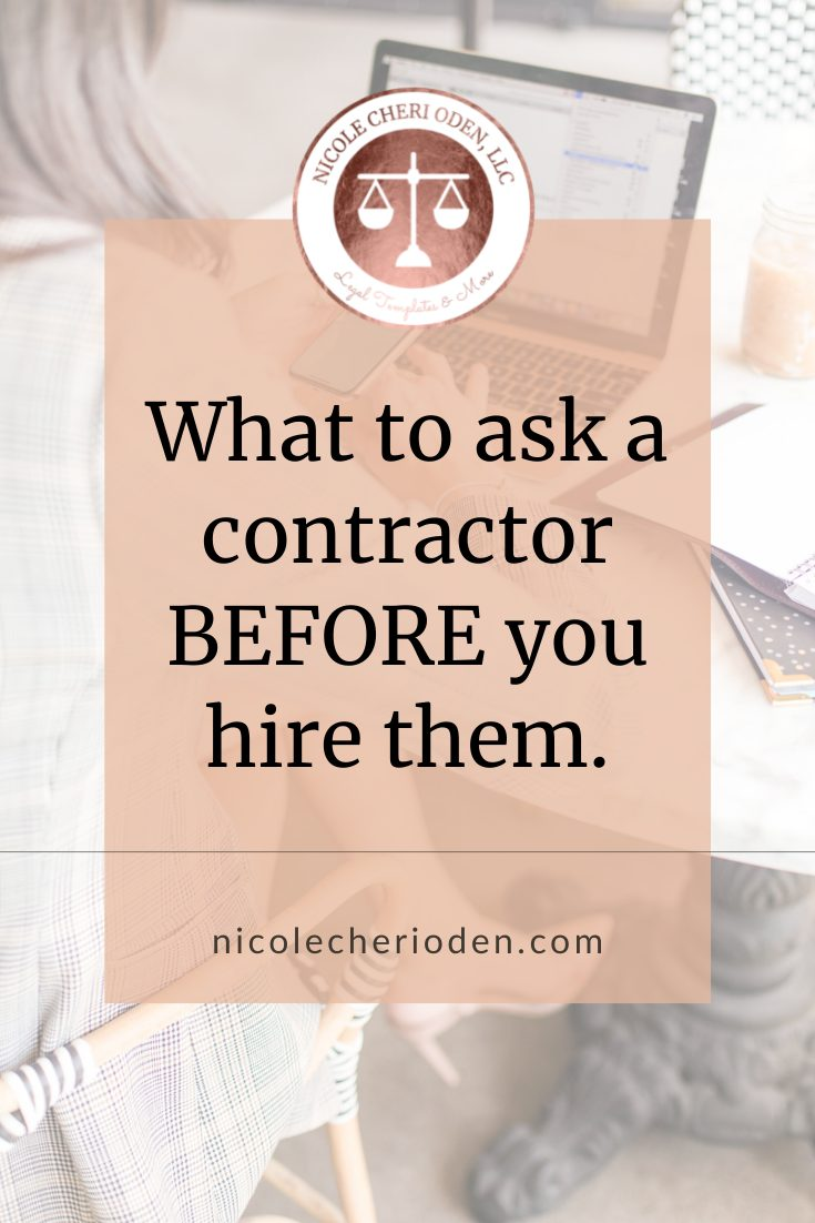 what to ask a contractor before you hire them